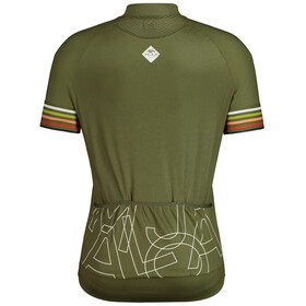 Maloja KratzdistelM. 1/2 Short Sleeve Bike Jersey Men, Oliva